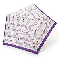 ハローキティ 折りたたみ傘(街並み)