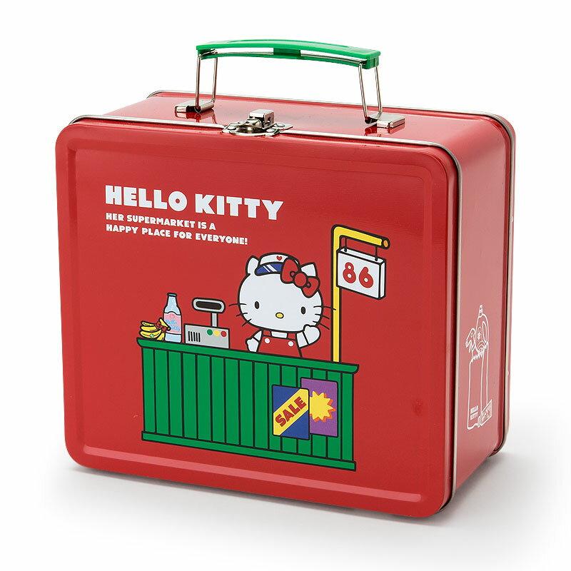 ハローキティ 缶トランク(アメリカンスーパーマーケット)