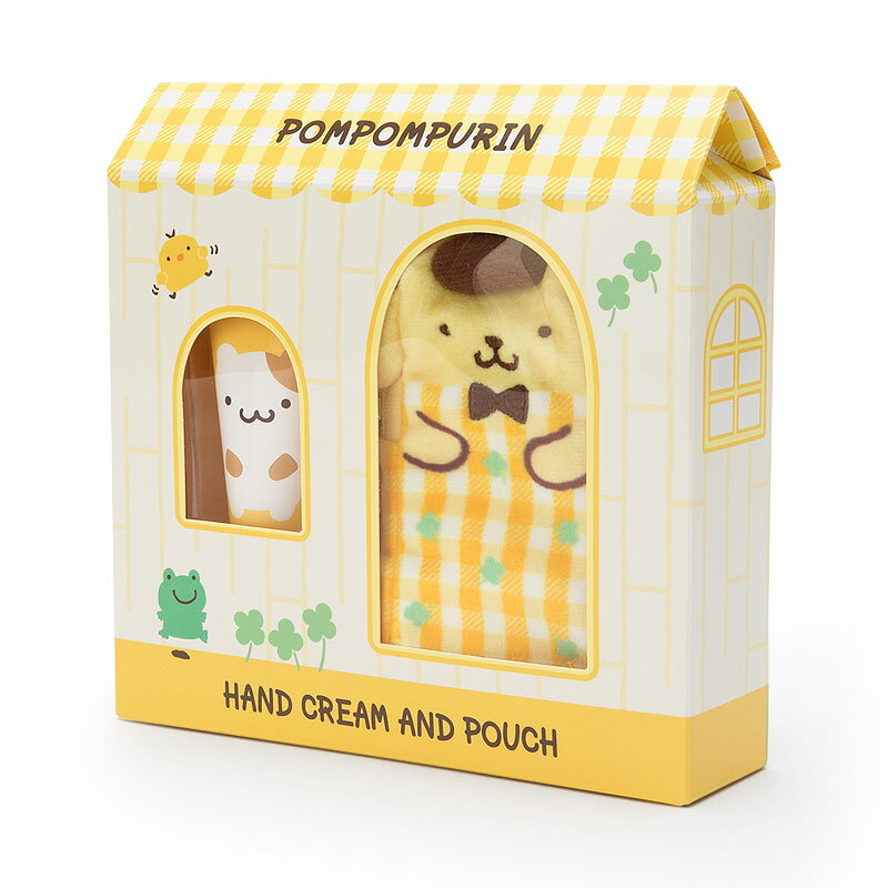 ポムポムプリン プチポーチ付きハンドクリーム