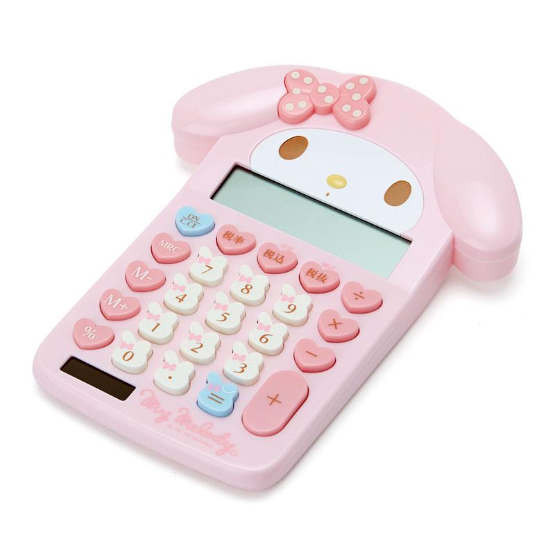 マイメロディ フェイス形キー電卓