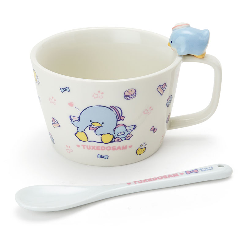 タキシードサム マスコット付きスープマグカップ