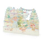 シナモロール クリスマスカード(雪遊び)