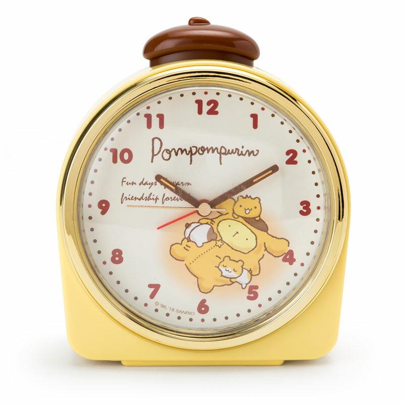 ポムポムプリン 目覚まし時計(夜ふかし)