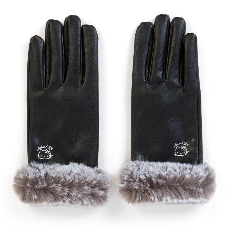 ハローキティ レザー手袋(タッチパネル対応)
