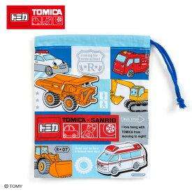 トミカ×サンリオ コップ袋