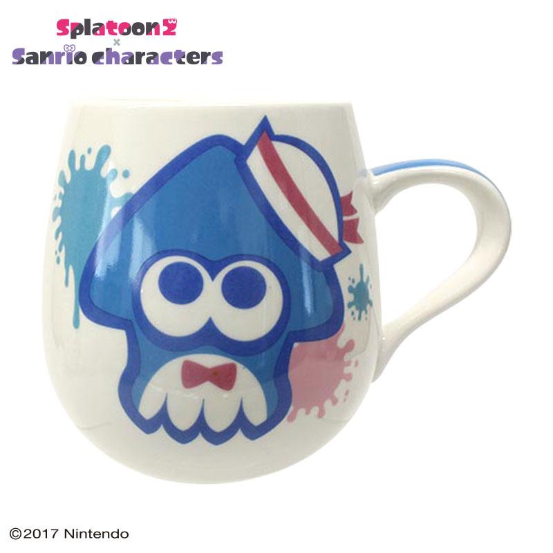 タキシードサム×スプラトゥーン2 マグカップ(イカ)