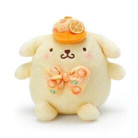 ポムポムプリン ぬいぐるみ(オレンジ) S