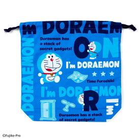 ドラえもん マチ付き巾着(I'm DORAEMON)