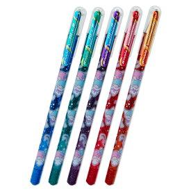 リトルツインスターズ デュアルメタリックボールペン5色セット