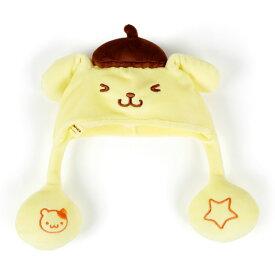 ポムポムプリン むにゅぐるみ用の耳が動く帽子