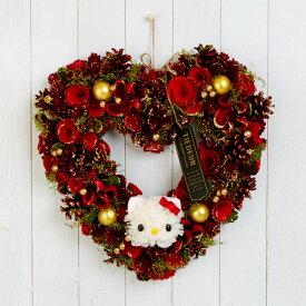 ハローキティ フラワーリース(クリスマス)