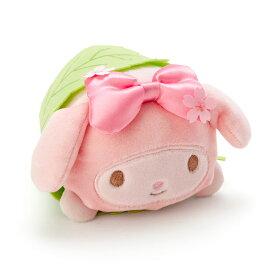 マイメロディ 桜餅風ミニぬいぐるみ