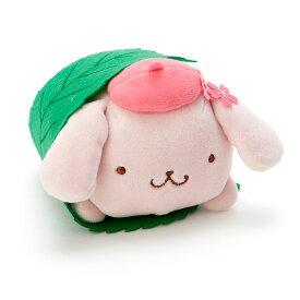 ポムポムプリン 桜餅風ミニぬいぐるみ