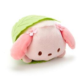 ポチャッコ 桜餅風ミニぬいぐるみ