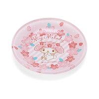 マイメロディ ガラス豆皿(桜)