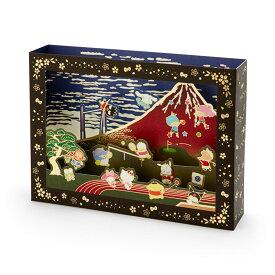サンリオキャラクターズ 和風スポーツカード(赤富士)