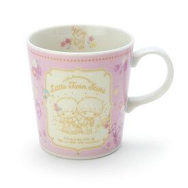 リトルツインスターズ45th マグカップ(プリンセスフラワー) ピンク