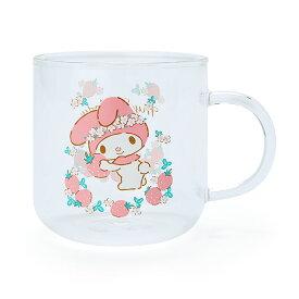 マイメロディ 耐熱ガラスマグカップ(ブランチタイム)