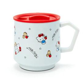 ハローキティ フタ付きステンレスマグカップ