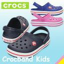 【8/16(水)17:59まで使える♪クーポン配布中】【キッズ・ジュニア】 クロックス クロックバンド キッズ Crocs Crocband Kids'