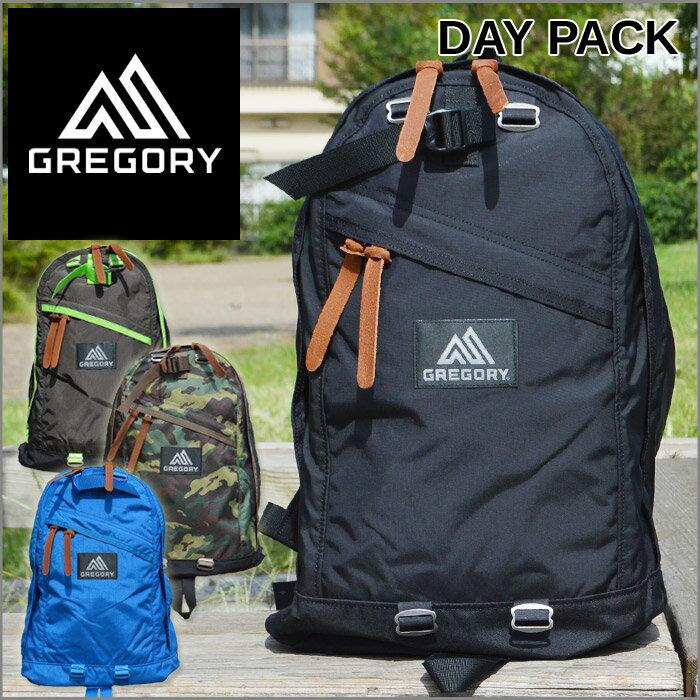 グレゴリー リュックサック メンズ レディース ブラック バッグ デイパック GREGORY DAY PACK 登山 キャンプ ハイキング