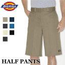 ディッキーズ メンズハーフパンツ DICKIES HALF PANTS #42283/送料無料 大きいサイズ カジュアル 半ズボン 作業着 作業服