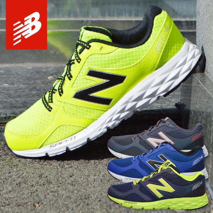 ニューバランス ランニングシューズ メンズ 靴 スニーカー スポーツシューズ NEW BALANCE M490