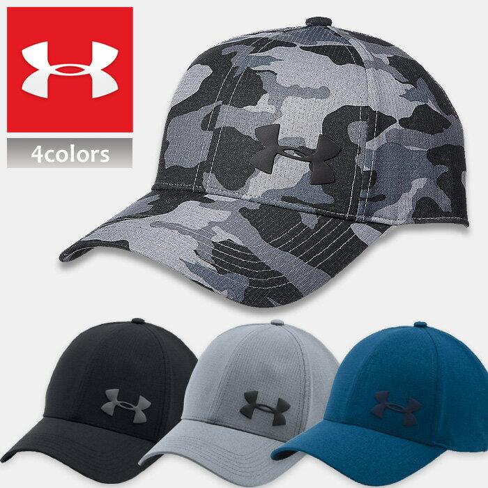 アンダーアーマー キャップ メンズ スポーツ ゴルフ UNDER ARMOUR MENS AIRVENT CORE CAP 迷彩 ブラック グレー ネイビー 1291857