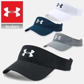 アンダーアーマー サンバイザー スポーツ ゴルフ UNDER ARMOUR CORE GOLF VISOR 帽子 キャップ 1291834