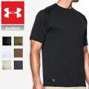アンダーアーマー ヒートギア メンズ半袖Tシャツ UNDER ARMOUR HEAT GEAR Tactical Tech Short Sleeve T-Shi...