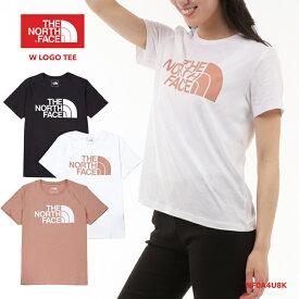 ノースフェイス Tシャツ レディース THE NORTH FACE W LOGO TEE NF0A4U8K 半袖 トップス アウトドア ティーシャツ ロゴ スポーツ アウトドア*