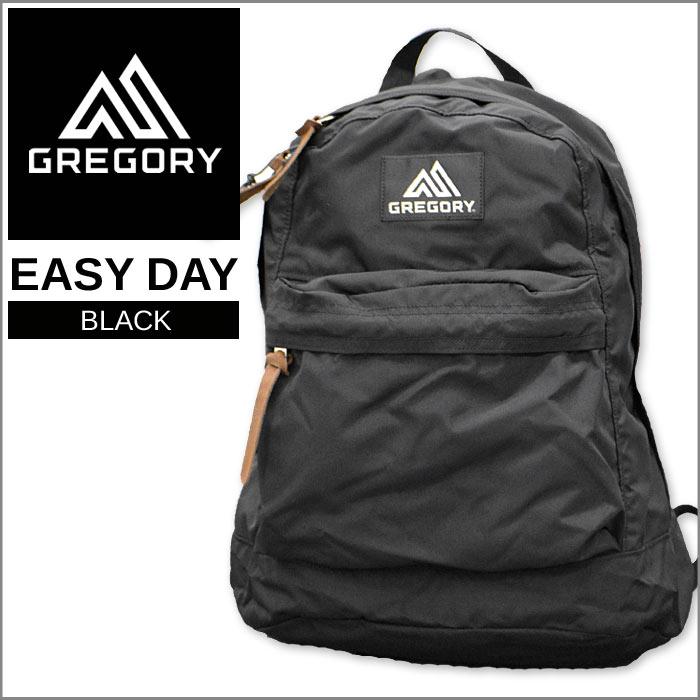 グレゴリー イージーデイ リュックサック バッグ メンズ レディース ブラック GREGORY EASY DAY キャンプ ハイキング 登山