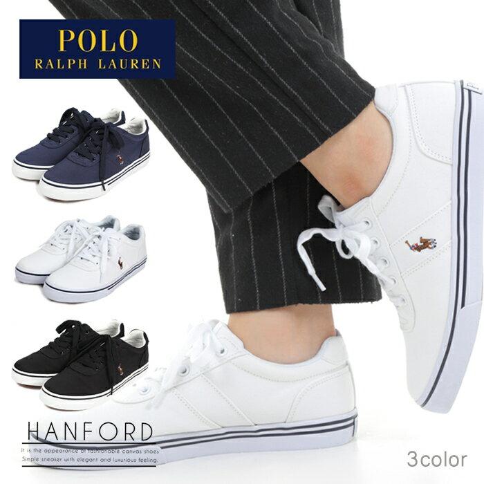 ポロ ラルフローレン スニーカー キャンバス レディース ウィメンズ 靴 シューズ カジュアル POLO RALPH LAUREN HANFORD
