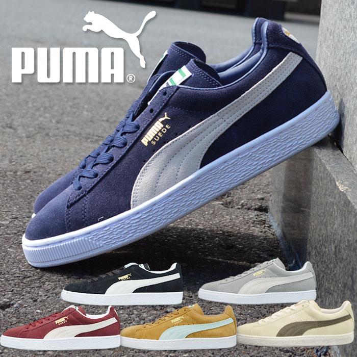 プーマ スニーカー スウェードクラシック メンズ 靴 シューズ PUMA SUEDE CLASSIC+