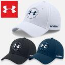 アンダーアーマー キャップ ゴルフ スポーツ メンズ 帽子 UNDER ARMOUR JS TOUR CAP ブラック ホワイト ネイビー