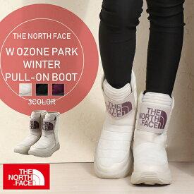 ノースフェイス THE NORTH FACE ウィメンズ W OZONE PARK WINTER PULL-ON BOOT レディース 婦人 女性 オズワン 防水 ブーツ