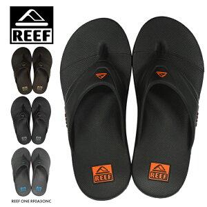 リーフサンダルメンズREEFONEビーチサンダルトング夏海レジャーアウトドアRF0A3ONCスポーツシャワサンビーサンエコ紳士靴大きいサイズ