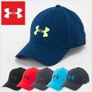 アンダーアーマースポーツキャップ/UNDERARMOURSTRETCHCAP/アンダーアーマーメンズ帽子キャップランニングストレッチ