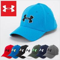 アンダーアーマースポーツキャップ/UNDERARMOURSTRETCHCAP/アンダーアーマーメンズ帽子メッシュキャップランニングストレッチ