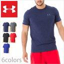 アンダーアーマー Tシャツ ヒートギア UNDER ARMOUR TEE SHIRTS アンダー アーマー メンズ tシャツ 半袖 ロゴ スポーツ