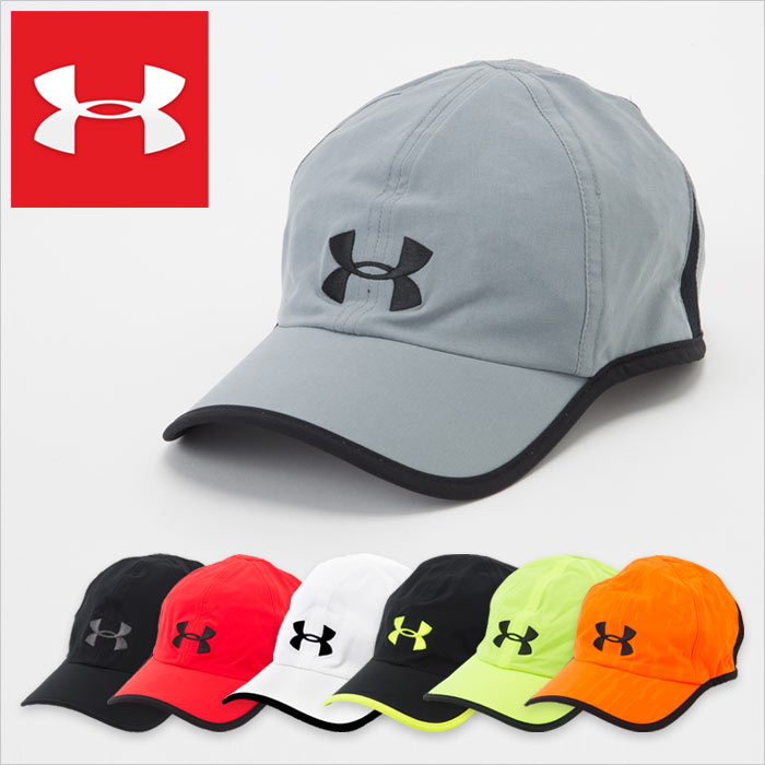 アンダーアーマー キャップ メンズ 帽子 スポーツ ランニング ゴルフ UNDER ARMOUR RUNNING CAP 1257748 ブラック グレー ホワイト