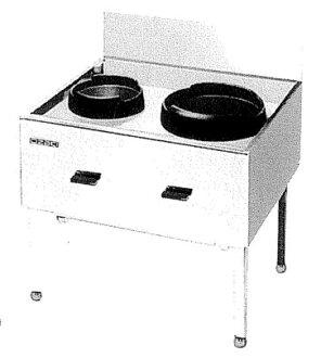 オザキ [2 입 레인지 폭 90cm] 가스 폭발 데이터 − 보 OZ90-75CTC LP 가스 W900 * D750 * H750 (mm)
