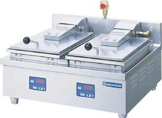 ニチワ 전기 자동 덤플링 소 체 2 연 식 탁상 타입 NGM-5.6AC 650mm * 600mm * H250mm 02P28Sep16
