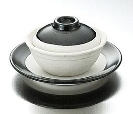素焼品味小砂鍋用 受皿 黒塗り 土鍋 鍋 調理器具 もつ すき焼き しゃぶしゃぶ フォンデュレストラン 業務 厨房 宴会 パーティー φ137*H22 453113