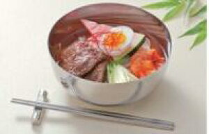 【韓国厨房】17cmステンレス スープボール 食器 ステンレス YA3-13-11 Φ172*89(mm) 韓国料理&カレー食器