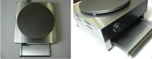 新品★STDE-1電気クレープ焼き器★クレープ焼き機★100V電源使用★トンボ付★送料無料、保証一年