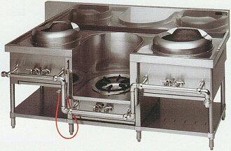 중화 렌지 (マルゼン)/イタメ, 수프, 국수 주방 설비 기기 MRS-103C W1750 * D750 * H720 (mm)