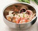 【韓国厨房】【中空構造】16cm浅型ステンレス 冷麺鉢 食器 ステンレス YA3-14-22 Φ159*72(mm) 韓国料理&カレ…
