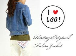 【送料無料】Lee(リー)-Lady's-RIDERSJACKET-ライダースジャケット/デニムジャケット-ヘリテージエディション薄めのユーズドブルーLL0629【smtb-k】【ky】【楽ギフ_包装】