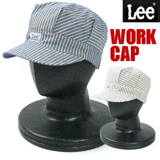 LEE(ri)可逆工作蓋子(帽子)-山核桃條紋-82829